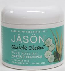 Pure remover Makeup natural makeup pads Quick quick Clean clean  Jason Natural by Remover Pads jason