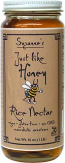 Just Like Honey Gluten-Free Rice Nectar