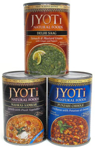 Jyoti Natural Foods Indian Meals