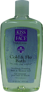 Cold & Flu Bath and Shower Gel by Kiss My Face
