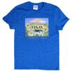 Vegan Because I Care Design T-Shirt by Kare -N- Wear