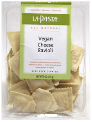 Vegan Cheese Ravioli by La Pasta
