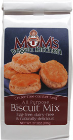 Vegan All-Purpose Biscuit Mix by Mom's Vegan Kitchen