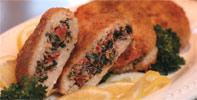 Vegan Mediterranean Stuffed Chicken Breasts by Match