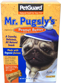 Mr. Pugsly's Peanut Butter Dog Biscuits by PetGuard