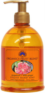 Organic Fruit Blends Liquid Hand Soap by Nature's Gate