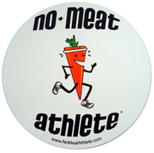 No Meat Athlete Magnet
