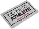 No Meat Athlete Stamp Logo Sticker