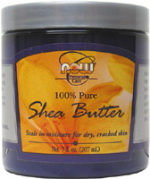 100% Pure Shea Butter by NOW