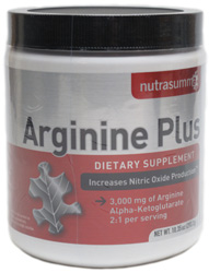 Arginine Plus Nitric Oxide Supplement by NutraSumma
