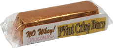 P'Nut Crisp Candy Bar by No Whey! Chocolates
