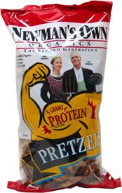 Newman's Organics Protein Pretzels