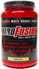 NitroFusion Natural Multi-Source Protein Powder
