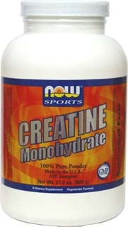 Vegan Creatine Monohydrate by NOW Sports