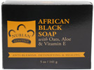 African Black Soap with Oats, Aloe & Vitamin E By Nubian Heritage