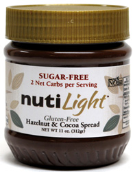NutiLight Sugar-Free Vegan Hazelnut & Cocoa Spread