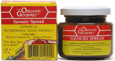 Organic Gourmet Savoury Spread European Nutritional Yeast Extract