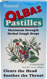 Olbas Pastilles Throat Lozenges