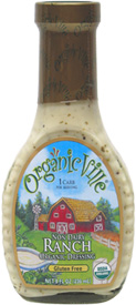 Organicville Vegan Non-Dairy Ranch Dressing
