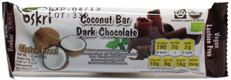 Dark Chocolate Covered Coconut Bar by Oskri
