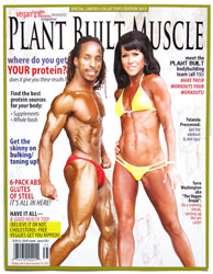 Plant Built Muscle Magazine by Vegan Health & Fitness