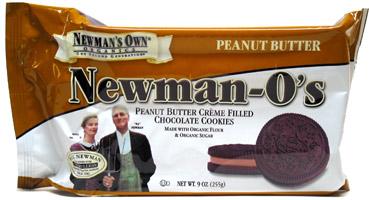 Peanut Butter Newman-O's
