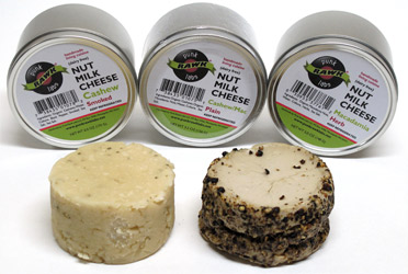 Punk Rawk Labs Vegan Nut Milk Cheeses