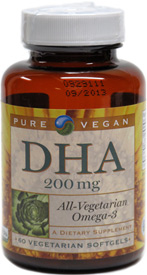 Omega-3 DHA by Pure Vegan