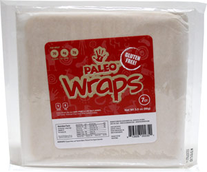 Paleo Wraps Gluten-Free Raw Vegan Tortilla Alternatives