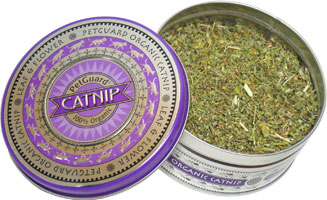 Organic Catnip Tin by PetGuard