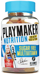 Sugar-Free Gummy Multivitamin by Playmaker Nutrition