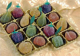 Gourmet Vegan Fruit Jellies by Rose City