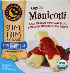 Organic Vegan Manicotti with Sauce by Rising Moon Organics