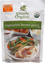 Organic Vegan Brown Gravy Mix by Simply Organic