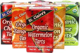 St. Claire's Organic Fruit Tart Candies
