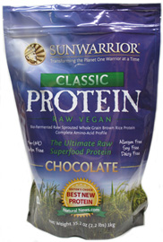 Sun Warrior Classic Raw Vegan Protein Powder