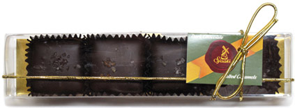 Organic Chocolate Covered Salted Caramel Gift Boxes by Sjaaks