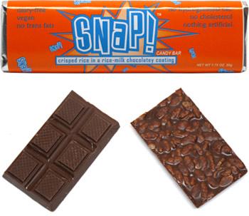 Snap! Crispy Rice Milk Chocolate Bar by Go Max Go Foods
