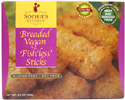 Breaded Vegan Fishless Sticks by Sophie's Kitchen
