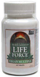Life Force Vegan Multiple by Source Naturals