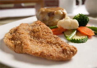 Vegan Southern Fried Steak and Gravy by Veggie Brothers
