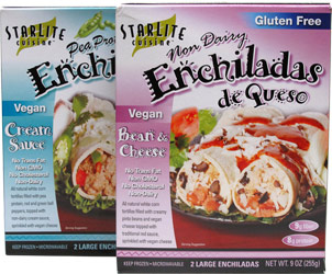 Vegan Enchiladas by Starlite Cuisine