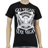 Go Vegan – Stay Vegan T-Shirt by Motive Company
