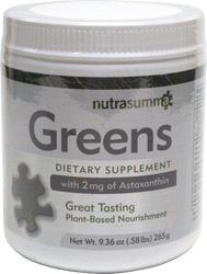 Greens Plant-Based Nourishment Powder by Nutra Summa