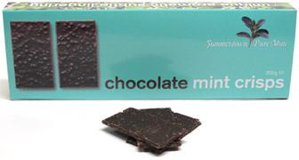 Chocolate Mint Crisps by Summerdown