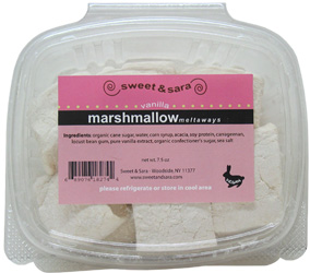 Vanilla Vegan Marshmallows by Sweet & Sara
