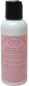 Tate's Natural Miracle Odorless Nail Polish Remover