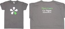 Think Green - Go Vegan T-Shirt