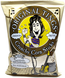 Tings Crunchy Corn Sticks