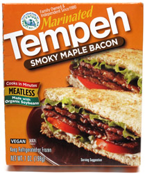 Smoky Maple Bacon Flavored Tempeh by Turtle Island Foods